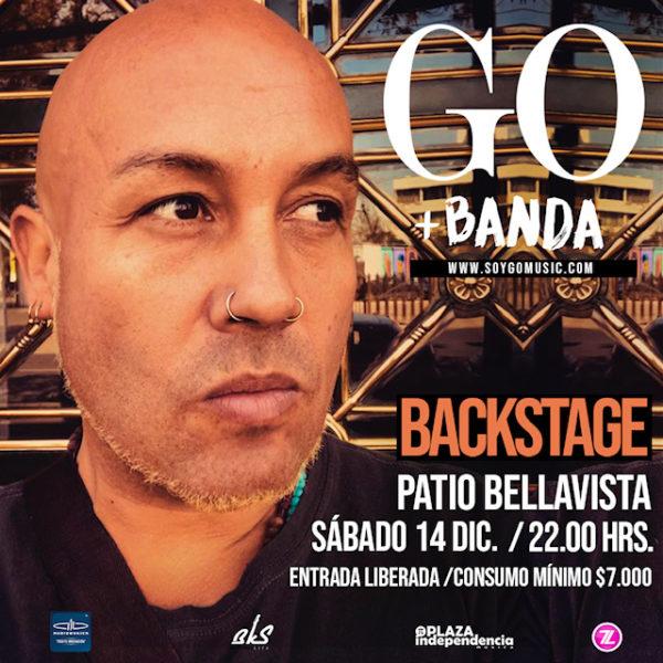 Go <br> Backstage <br> Diciembre 2019