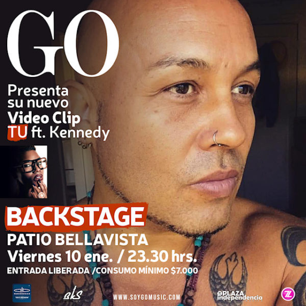 Go <br> Backstage <br>10 Enero 2020