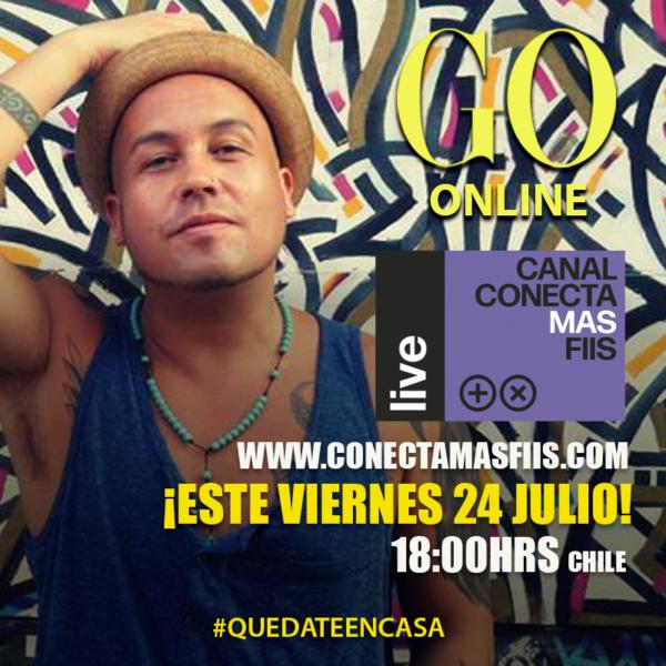 Go <br> ConectaMasFiis <br> 24 Julio 2020