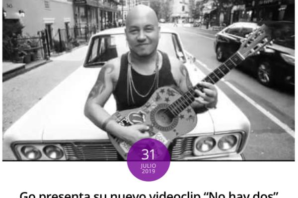 Go <br> Chile Funk <br> Agosto 2019