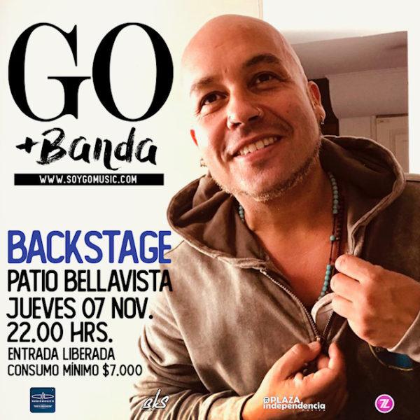 Go <br> Backstage <br> Noviembre 2019