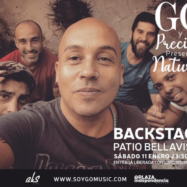 Go y Precisos<br> Backstage <br> 11 Enero 2020