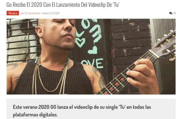 Go <br>Es Venezuela<br> Febrero 2020