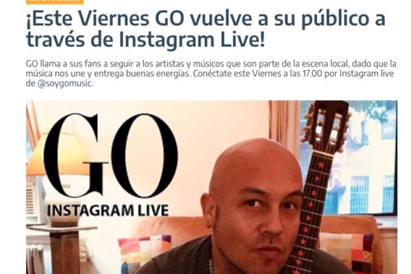 Go <br> Epicentro <br> Marzo 2020