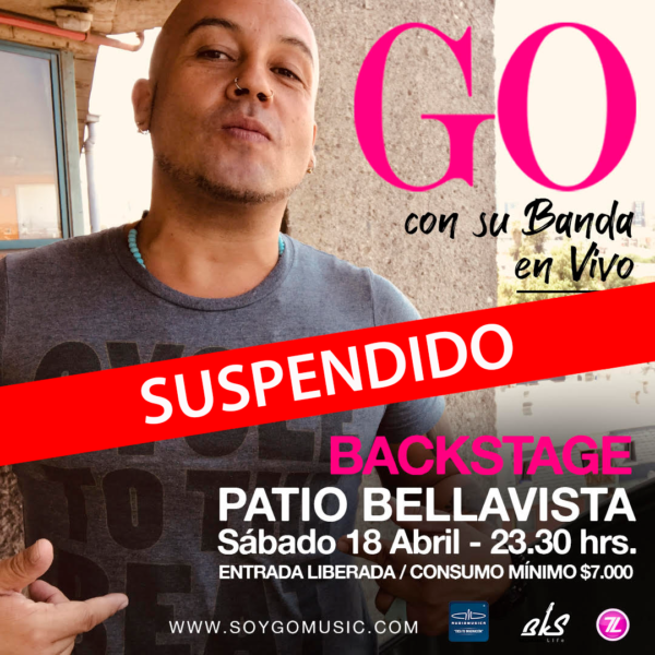 Go <br> Backstage <br> 18 Abril 2020