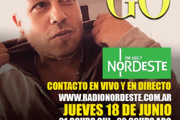 Go <br> Radio Nordeste <br> 18 Junio 2020