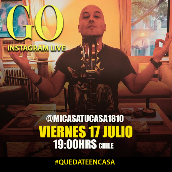 Go <br> MiCasatuCasa <br> 17 Julio 2020