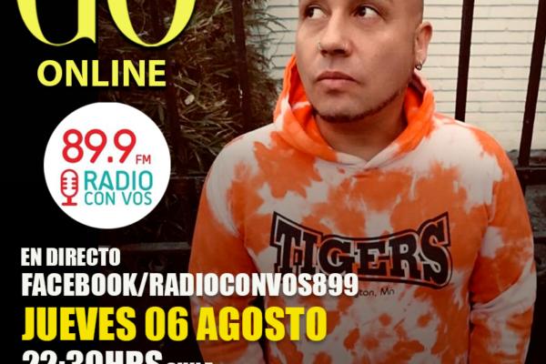 Go <br> RadioconVos899 <br> 06 Agosto 2020